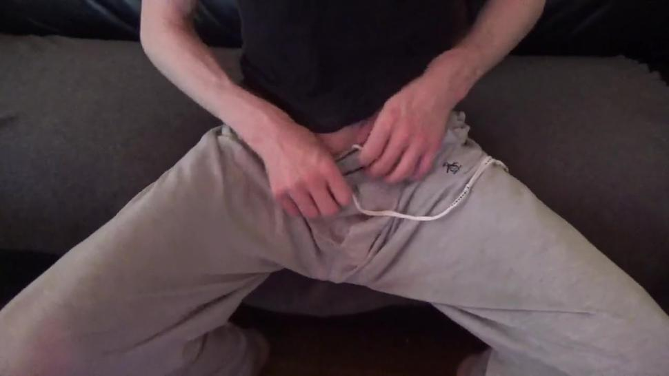 Dave wants you to suck his cock while his gf is gone - Solo male jerking off, messy cumshot