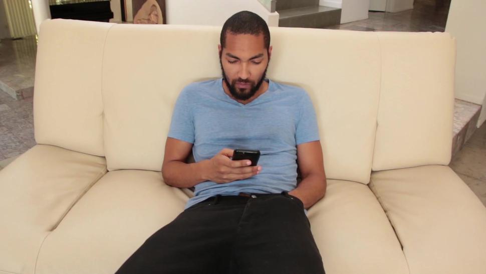 Interracial Screw On Couch - Alex Harper