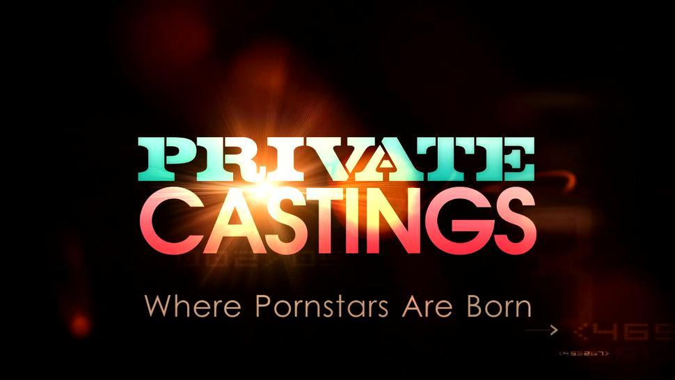 Private sex auditions with dark-skinned hottie