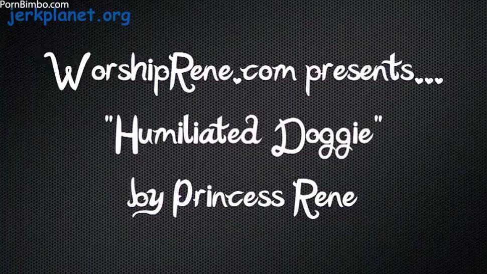 princess rene - humiliated doggy