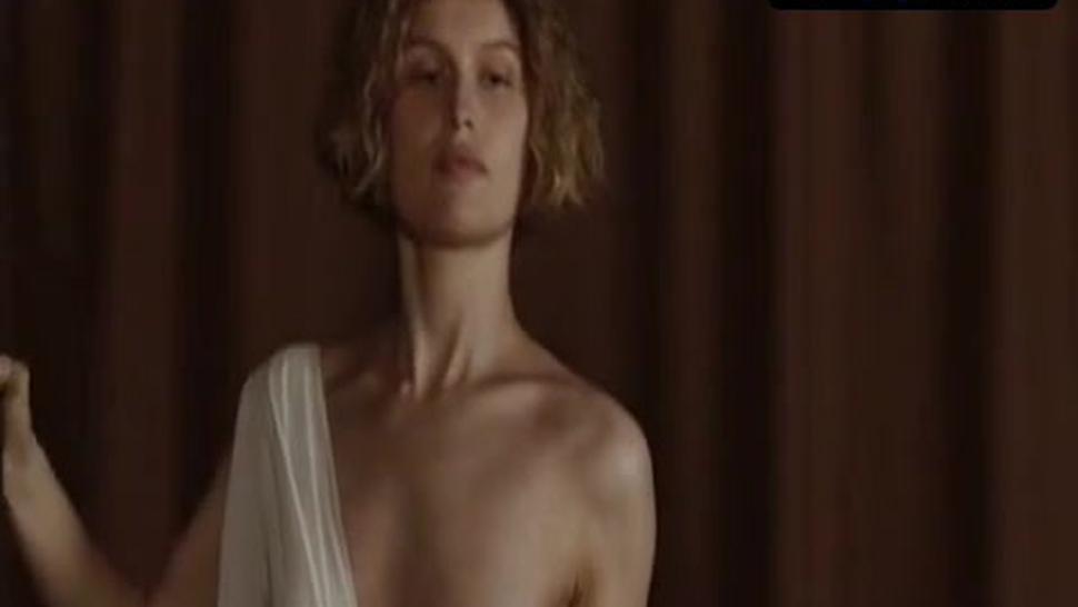 Laetitia Casta Breasts Scene  in La Jeune Fille Et Les Loups