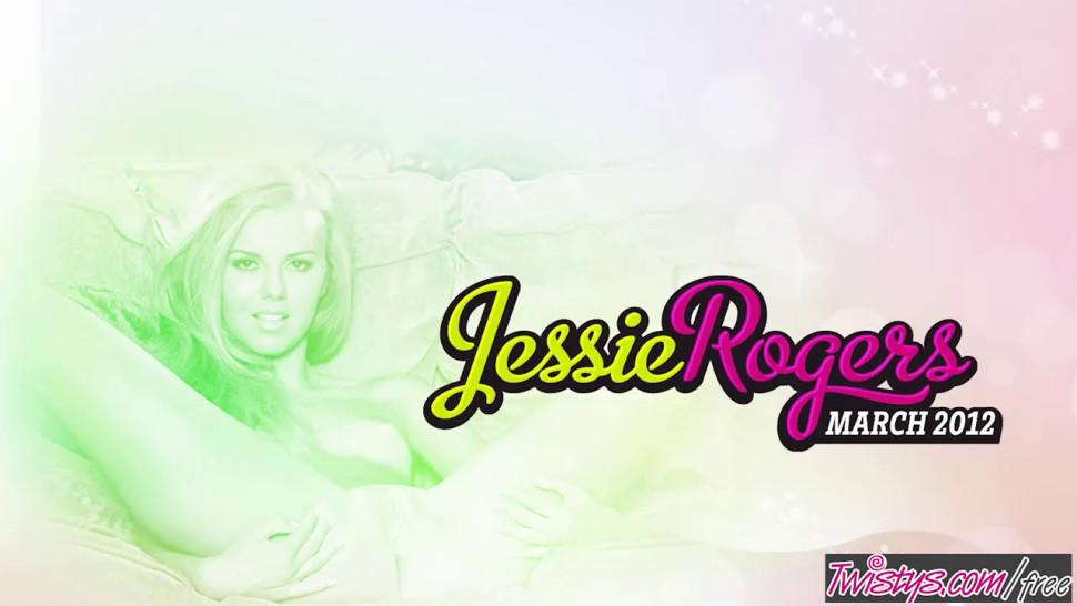 WHEN GIRLS PLAY - Twistys - Marie McCray Jessie Rogers starring at Jessie Rogers Teen Sensation