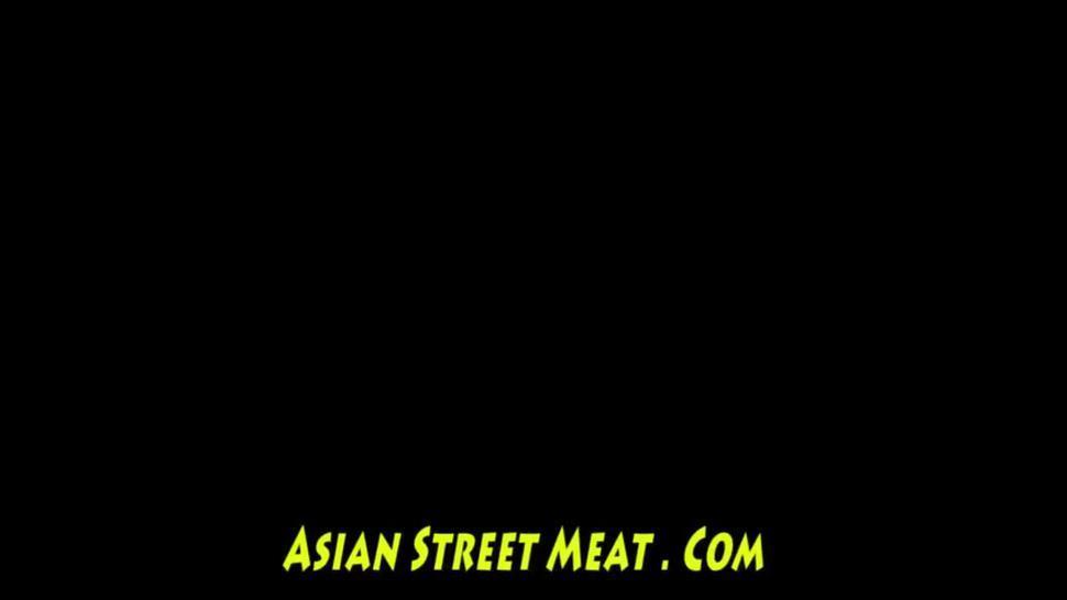 Tattoed Anal Screw Toy Asian Freak