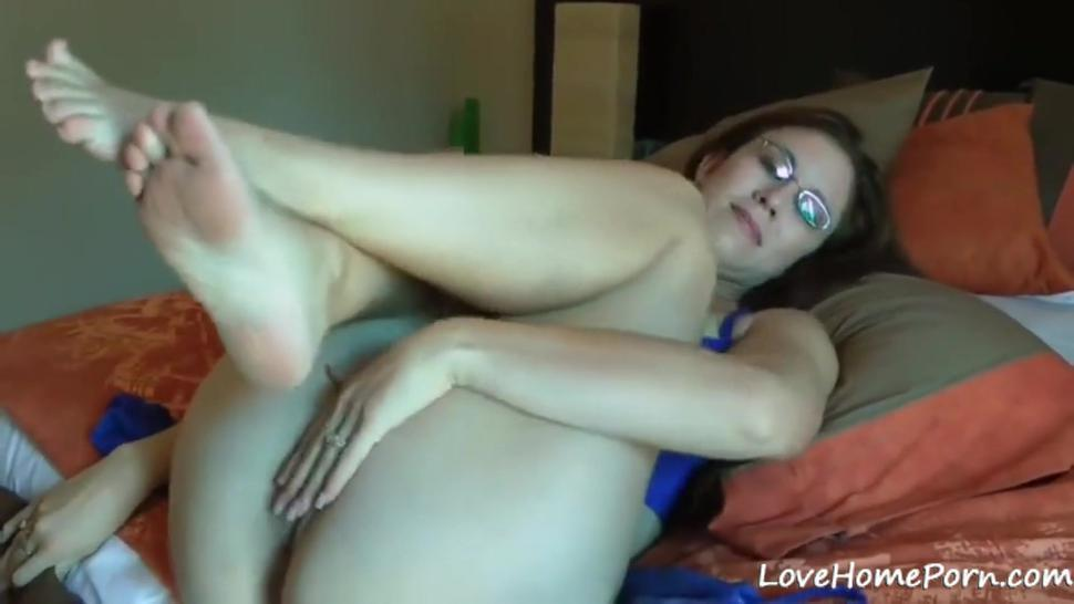 Mature MILF anal probed by husbands cock and sprayed cum on her