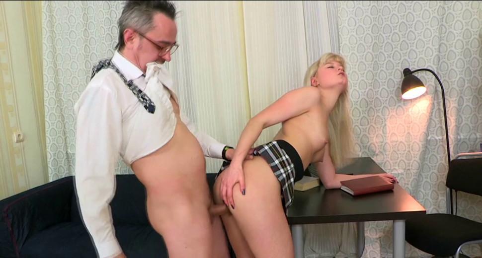 Elegant Russian woman blows then fucks