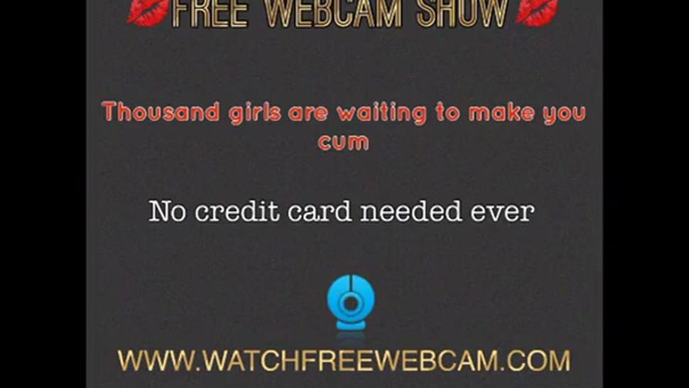 Latina Cum On Ass Cam Show