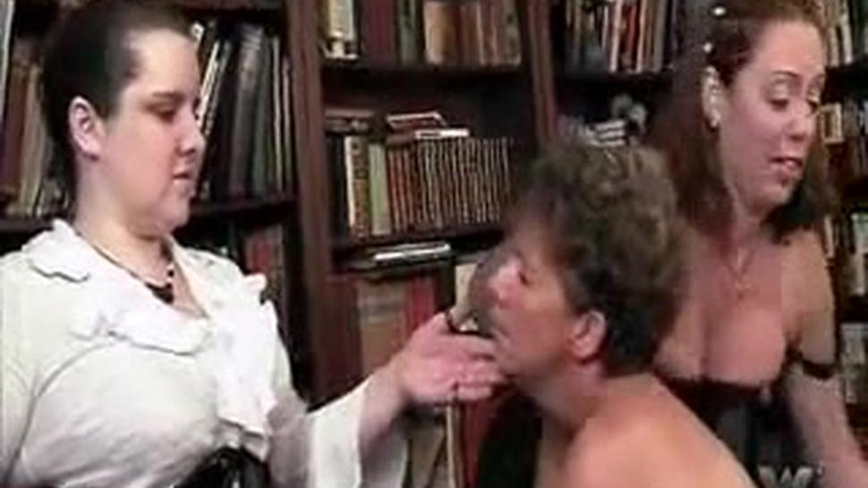Chubby Mature Group Spanking