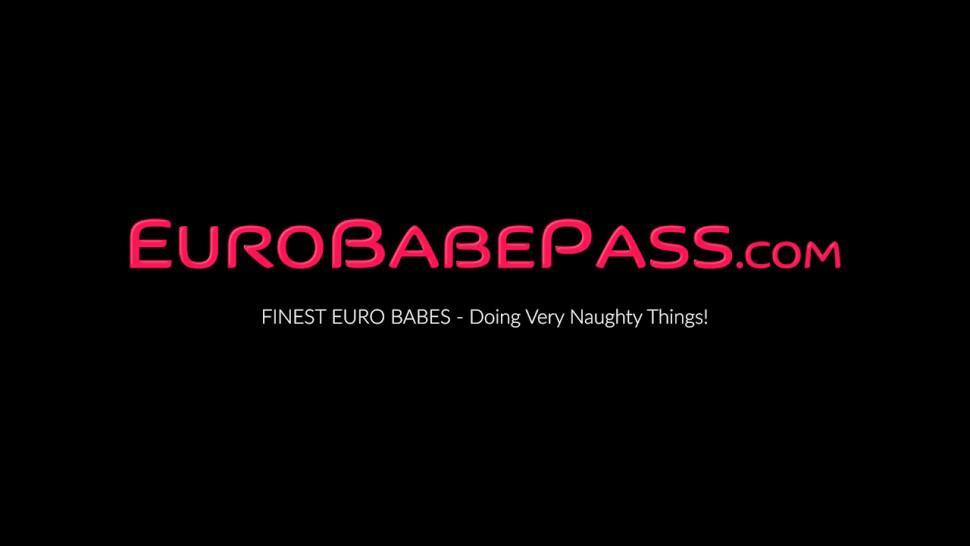 EURO BABE PASS - Wicked Euro girl Emily Watson enjoys naked and masturbates