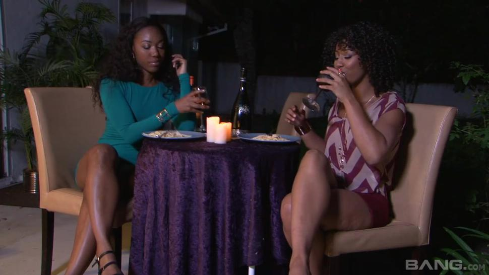 Bang.Com - Misty Stone And Chanell Heart Can'T Wait To Screw
