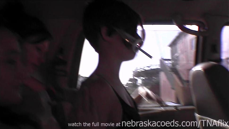NEBRASKACOEDS - real and naked girls in public at stores and grocery store perfect hot teens