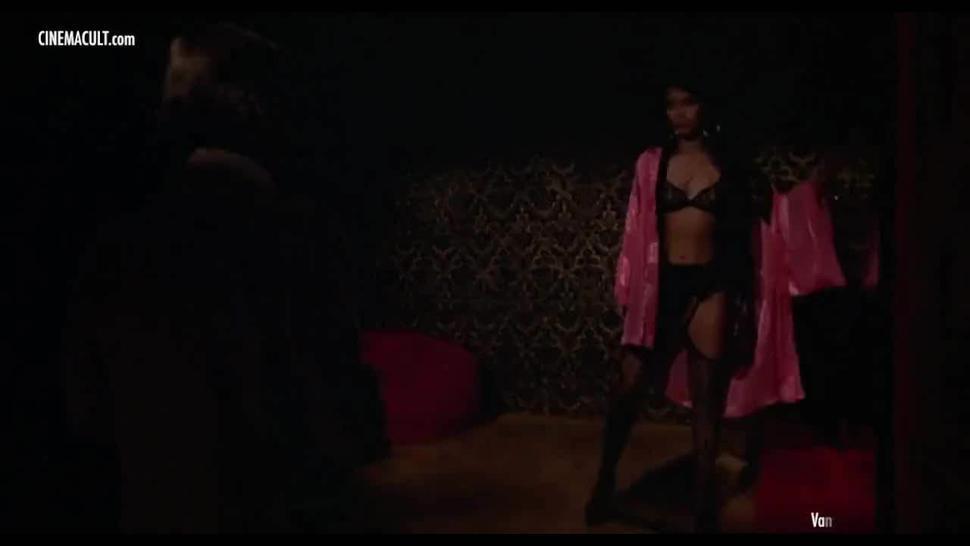 A little striptease
