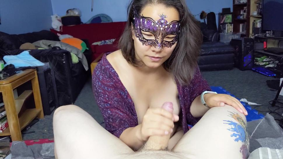 She Wanted To See How Fast She Could Make Me Cum!
