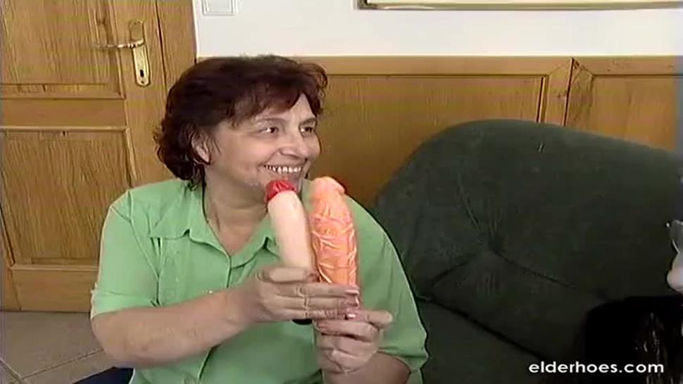 Hungarian Granny BBW
