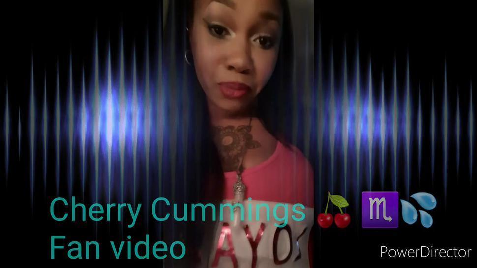 Sexy ebony dirty talk/Fan video