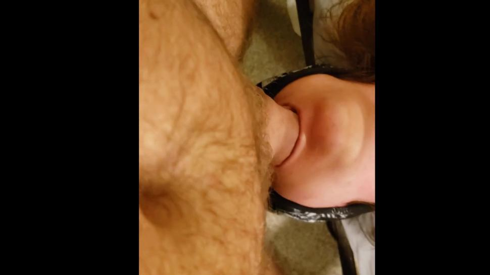 Incredible Tongue And Throat! Cock Swirled Around Like Sucking On Candy. Absolutely Incredible!