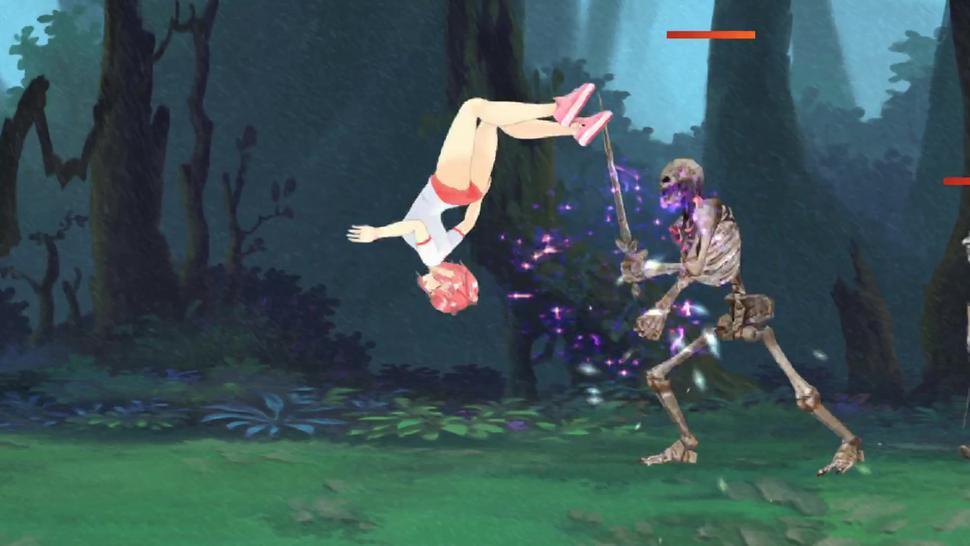 Fighting Girl Sakura Gameplay: Stage 8 FINAL (Ryona)