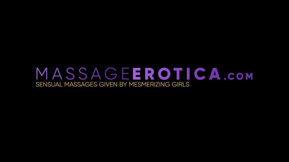 MASSAGE PASSWORD - Busty Emori Pleezer reverse cowgirl rides dick after massage