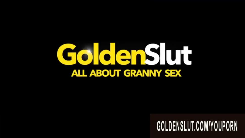 Golden Slut - Stretching Hairy Mature Pussies Compilation Part 1 - video 1