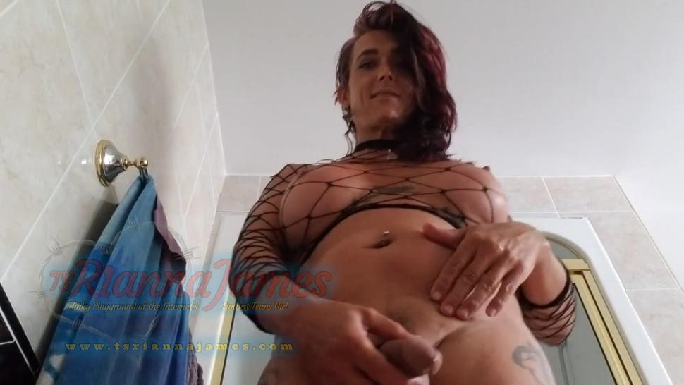 Standing over you pissing in your toilet slave mouth