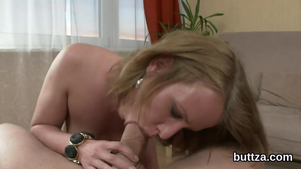 Glamorous seminude slim cutie gets poked in spread anal