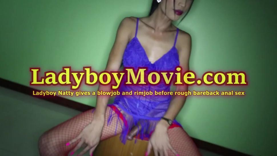 Ladyboy Natty Fucked Roughly