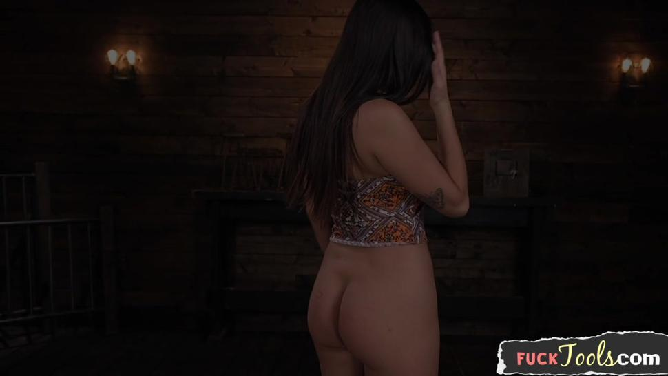 Busty Beauty Enjoys Getting Machine Fucked - Karlee Grey