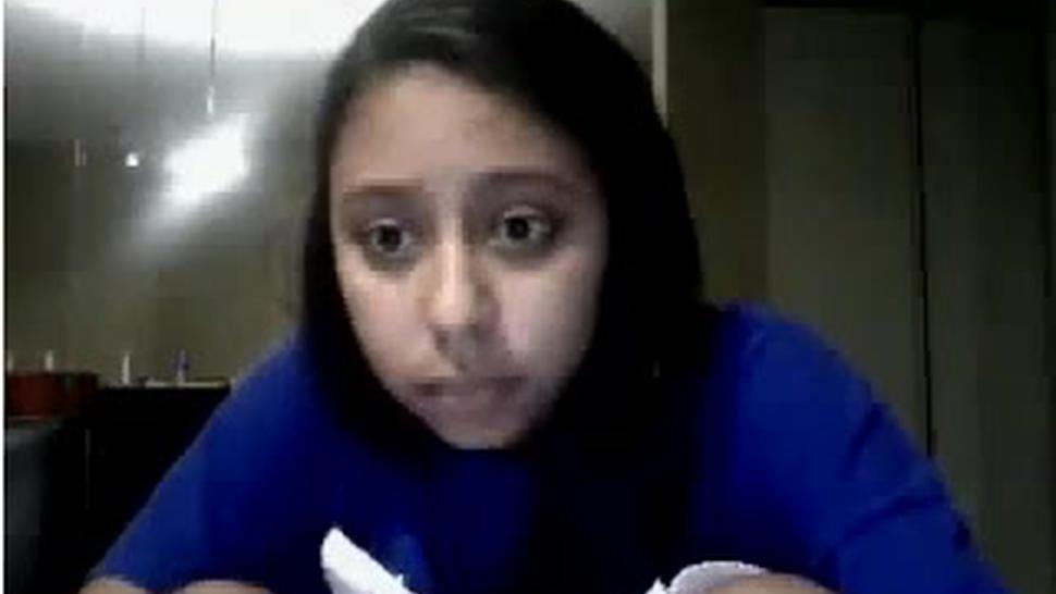 Teen Latina Hottie Freaky At