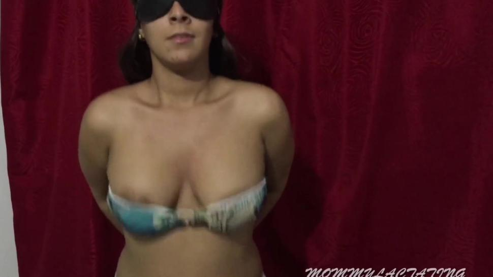 Sucking and bouncing my milky tits by Mommy Lactating (custom video)