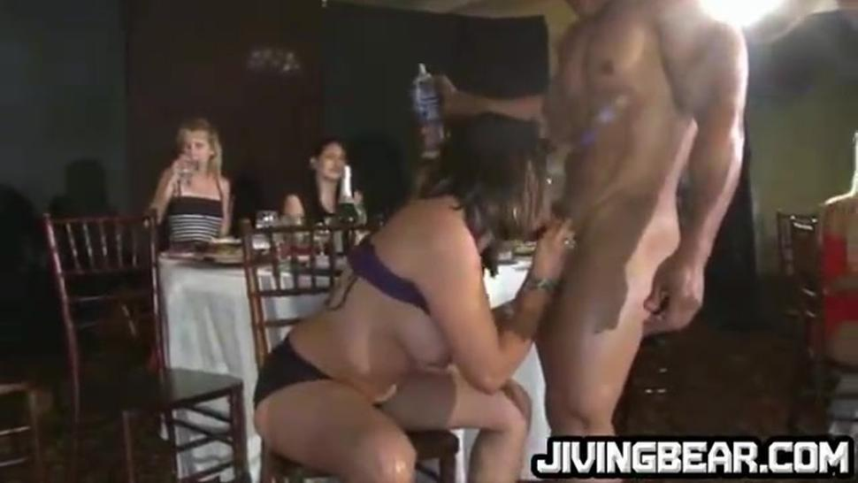Girl at bachelorette party gone wild