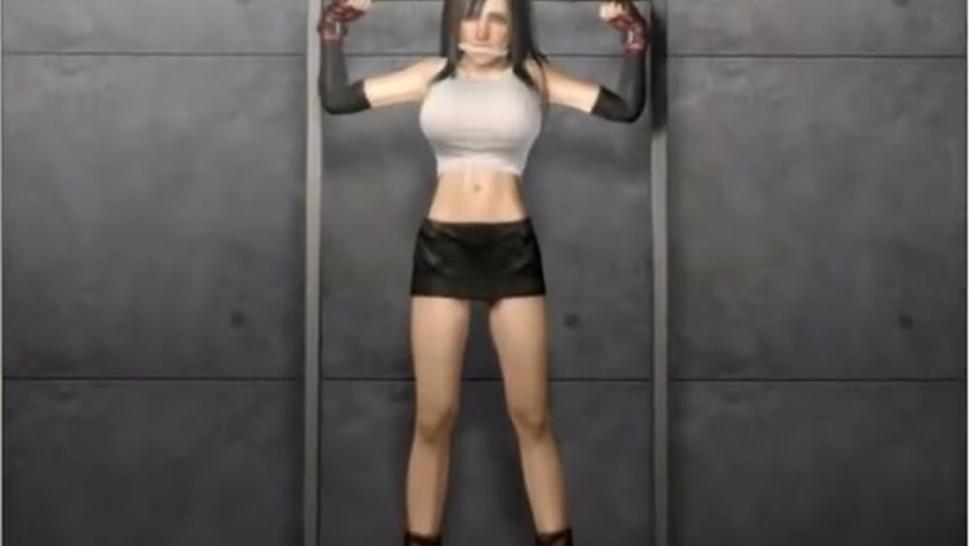 FFVII Tifa Broken Heart 3D 01