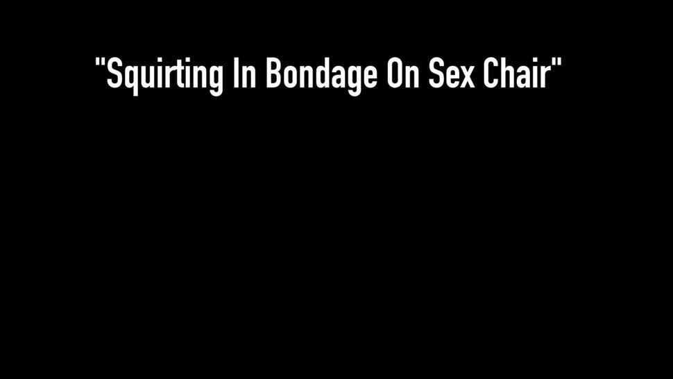 Bound Busty Asian Maxine X Made To Cum In A Ratchet Gag!