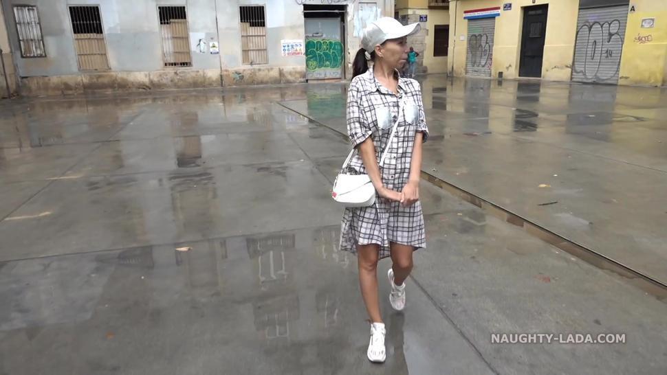 Naughty Russian MILF Exhibitionist 56
