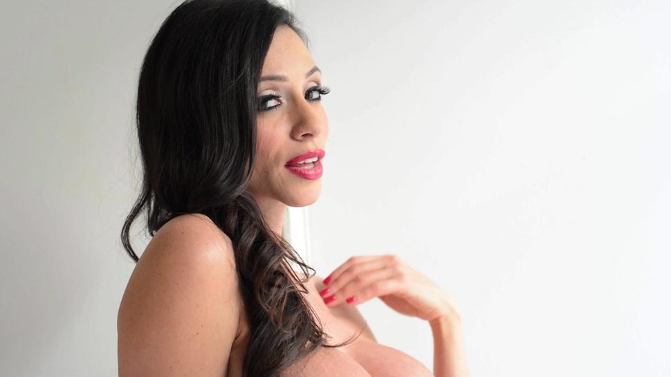 Busty Girl Takes Two Dicks - Ariella Ferrera