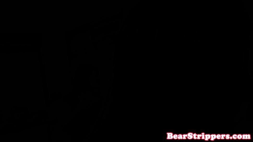 DANCING BEAR - CFNM babe rims stripper at bachelorette party