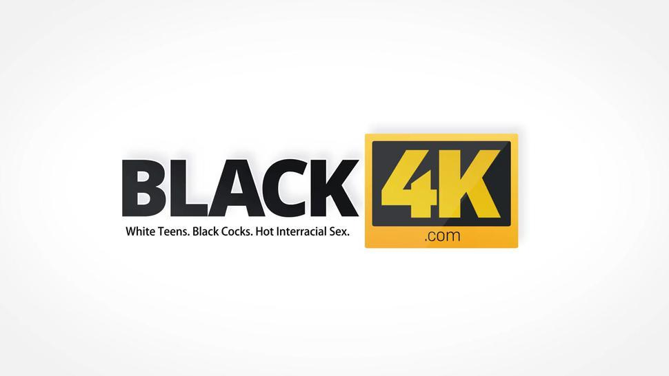 BLACK4K. Caring black lover knows how to make his gf happy