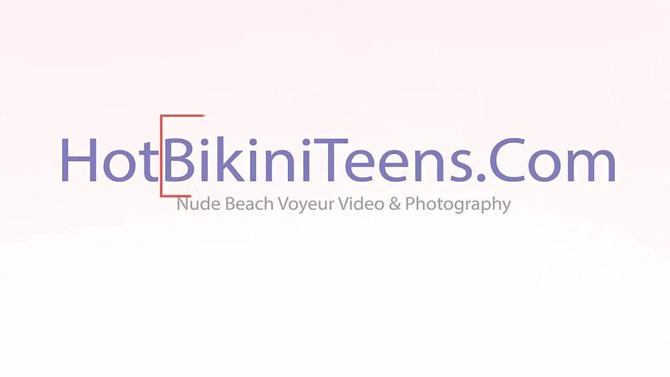 Nude Beach Voyeur Horny Milfs Nude Tanning HD