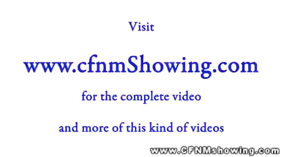 CFNM enjoy facesitting as a group on their naked men