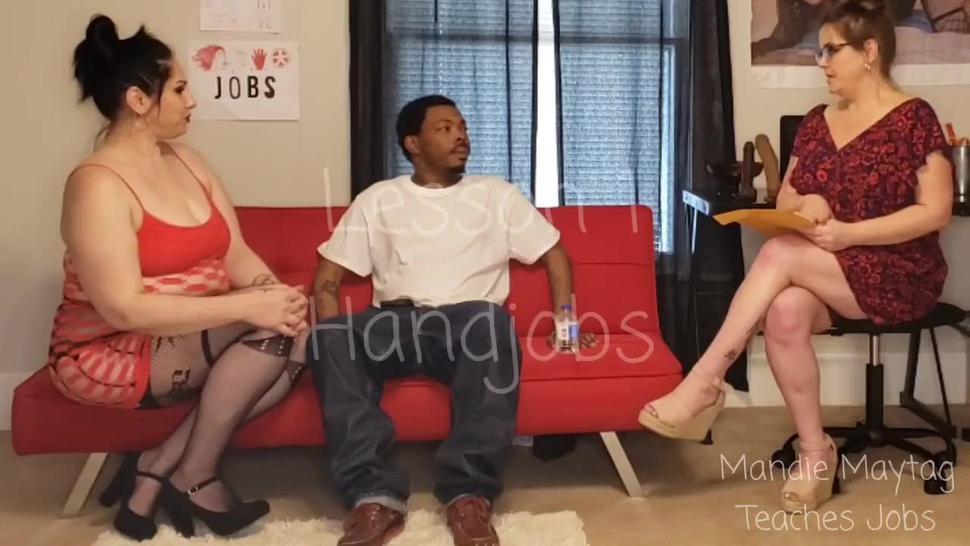 PROMO: Mandie's Job Training. Handjobs Blowjobs Rimjobs