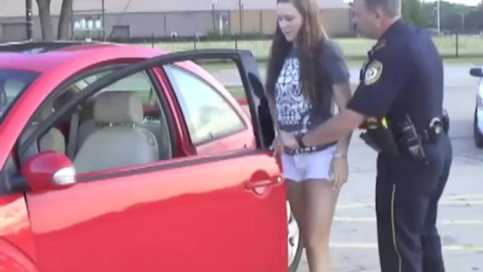 Fake Arrest Roleplay Girls Handcuffed