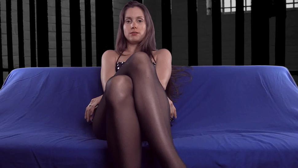 Gf With Sexy Pantyhose - Lelu Love