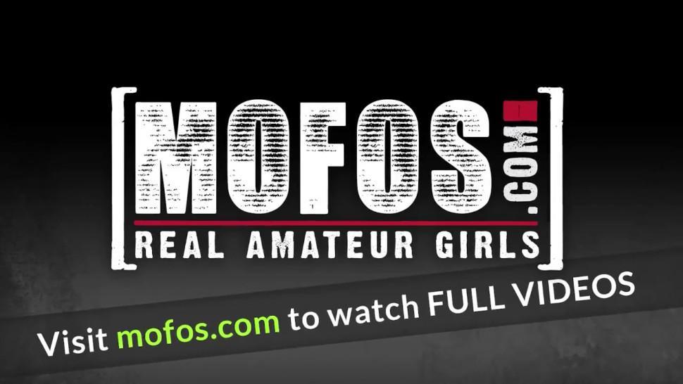 MOFOS - Hot girlfriends , Ashley Adams and Xeena Mae, share one lucky dick