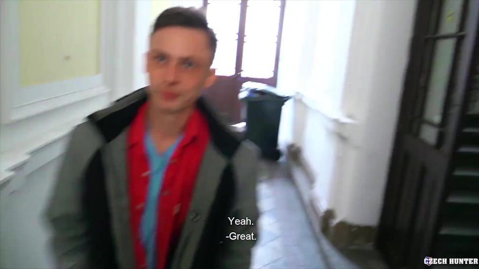 Czech Hunter 531 - Czech Hunter Fucks A Horny Male With His Big Juice Dick