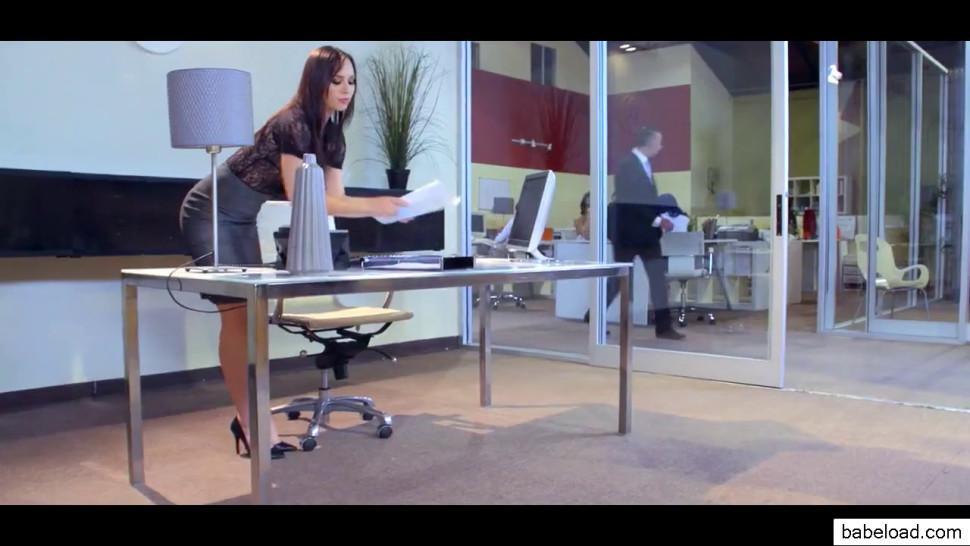 Lana Rhoades Aidra Fox Janice Griffith Riley Reid Gang Bang Office