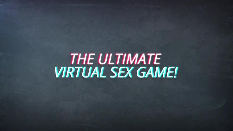 Video Games Babes Enjoying a Huge Long Cock