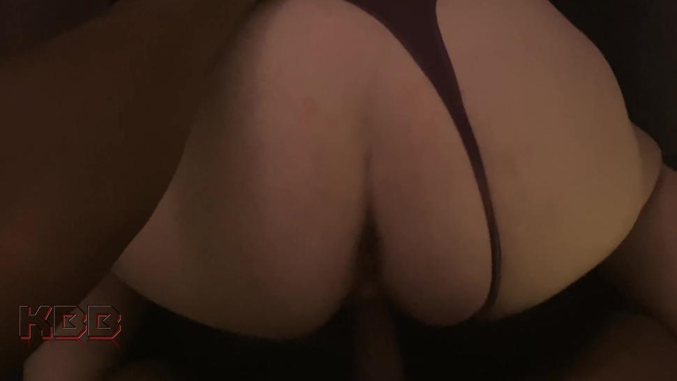 Teen PAWG MILF enjoys some BBC in her pussy and ass