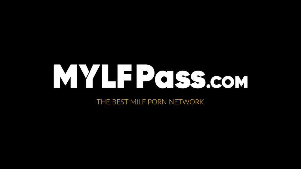 MYLF PASS - Big tits babe Gia Milana riding big throbbing cock hard POV