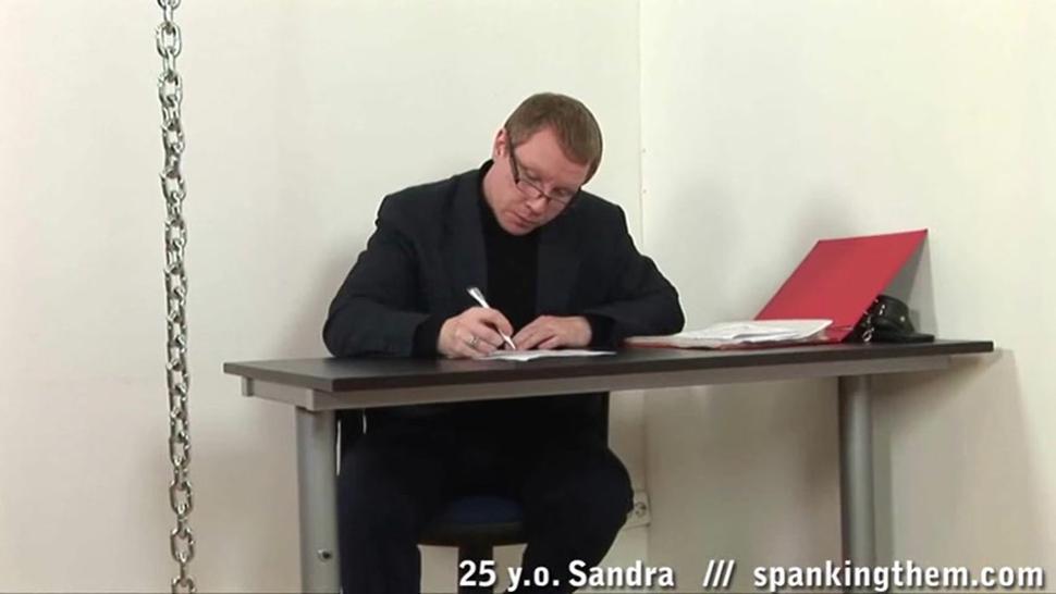 Punishment For Sex Slave Sandra