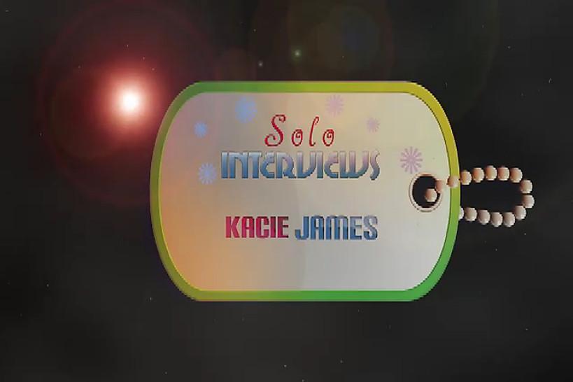 SoloInterviews Kacie James brunette teen striptease solo masturbation - Solo Interviews