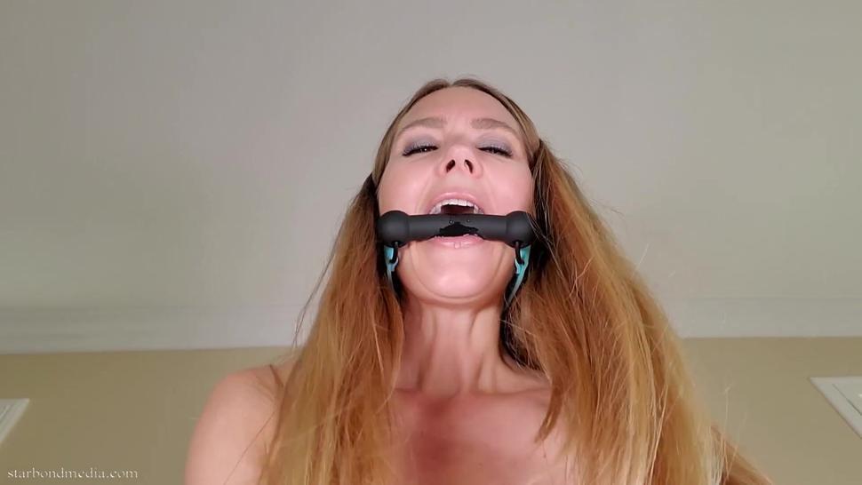 Bit Gag Cowgirl - Star Nine Virtual Sex Gag Talking Trailer