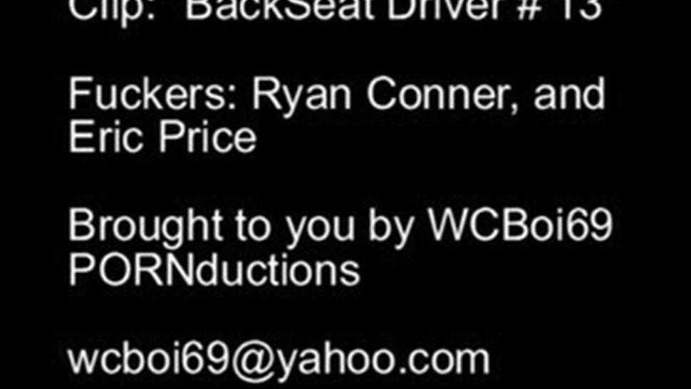 Ryan Connor - Back Seat Driver 13 - Ryan Conner